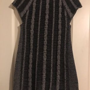 Style & Co Sweaters - Gray and black sweater